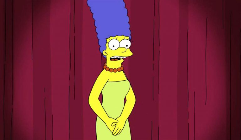 Marge Simpson wades into politics to call out Trump