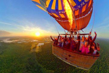 Orlando Fun Hot-Air Baloon Ride